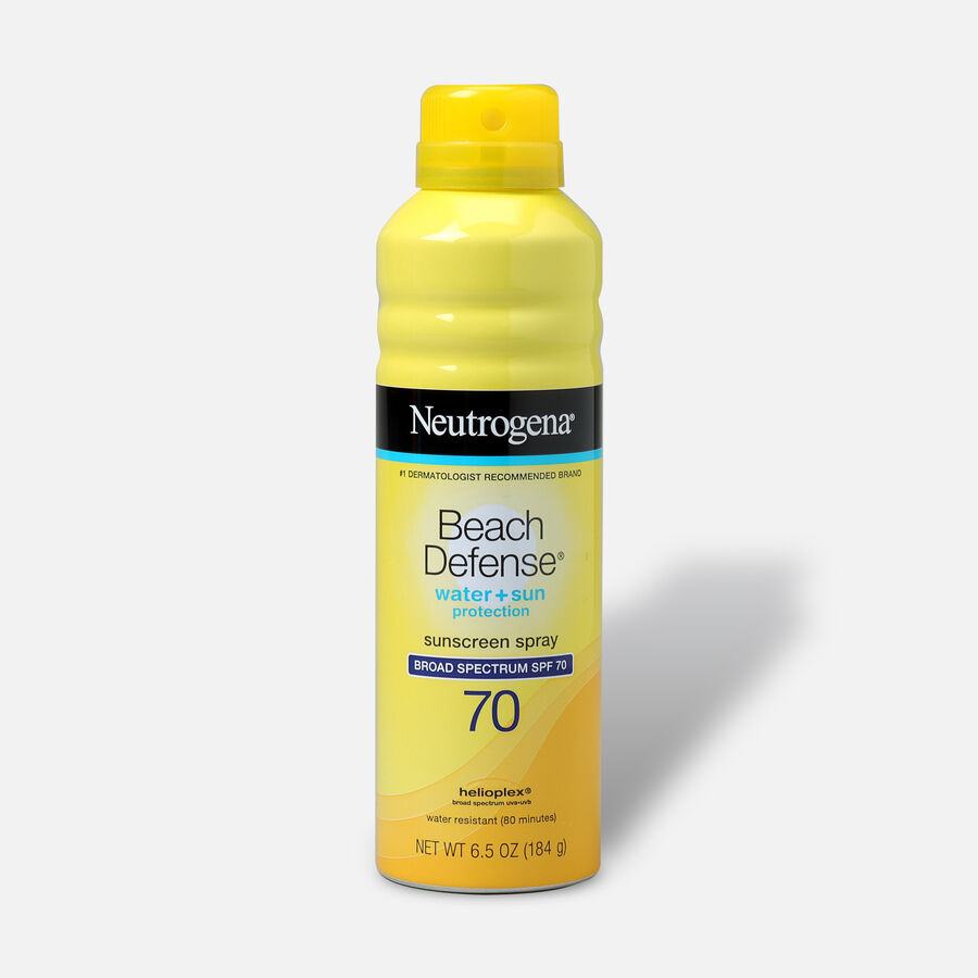 Neutrogena Beach Defense Sunscreen Spray, 6.5 oz, , large image number 1