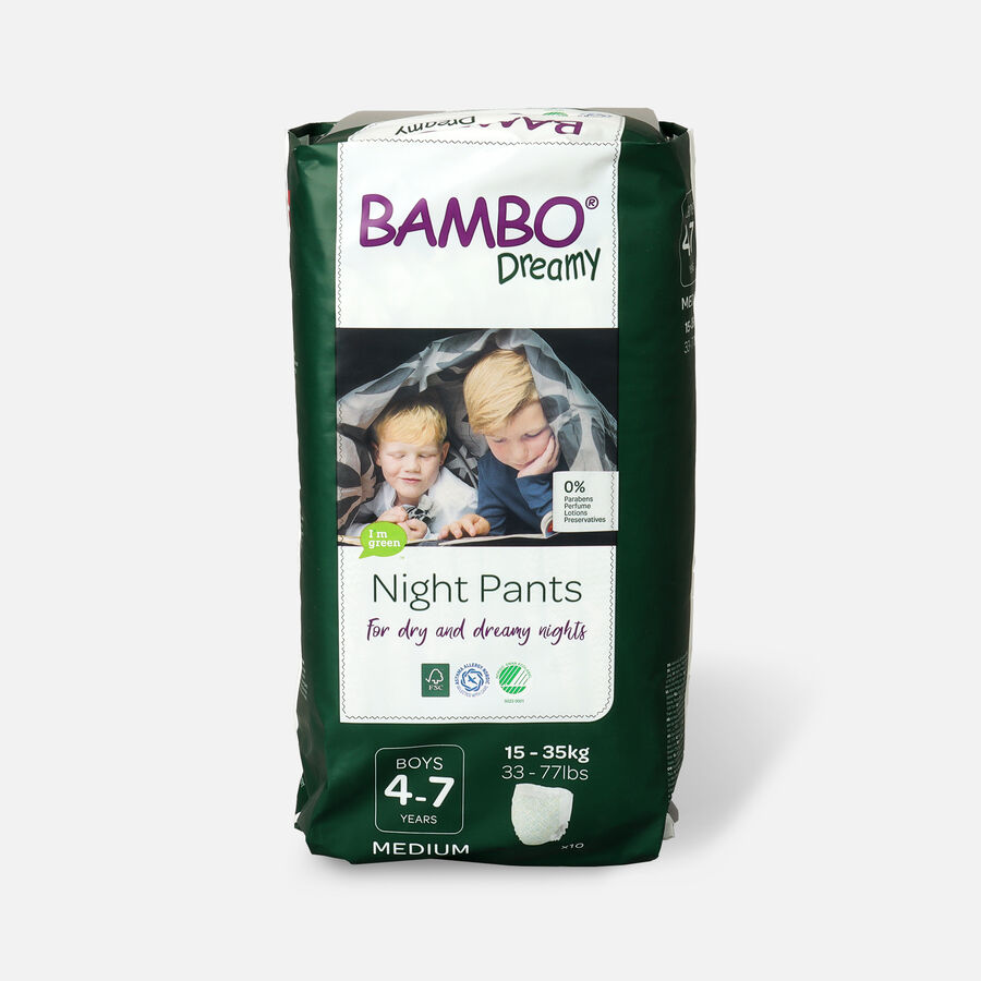 Bambo Dreamy Night Pants, Boys, 4-7 Years, 10ct, , large image number 0
