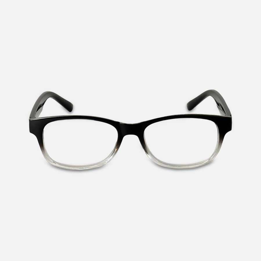 Today's Optical Frame, Black with Transparent Accents, , large image number 0