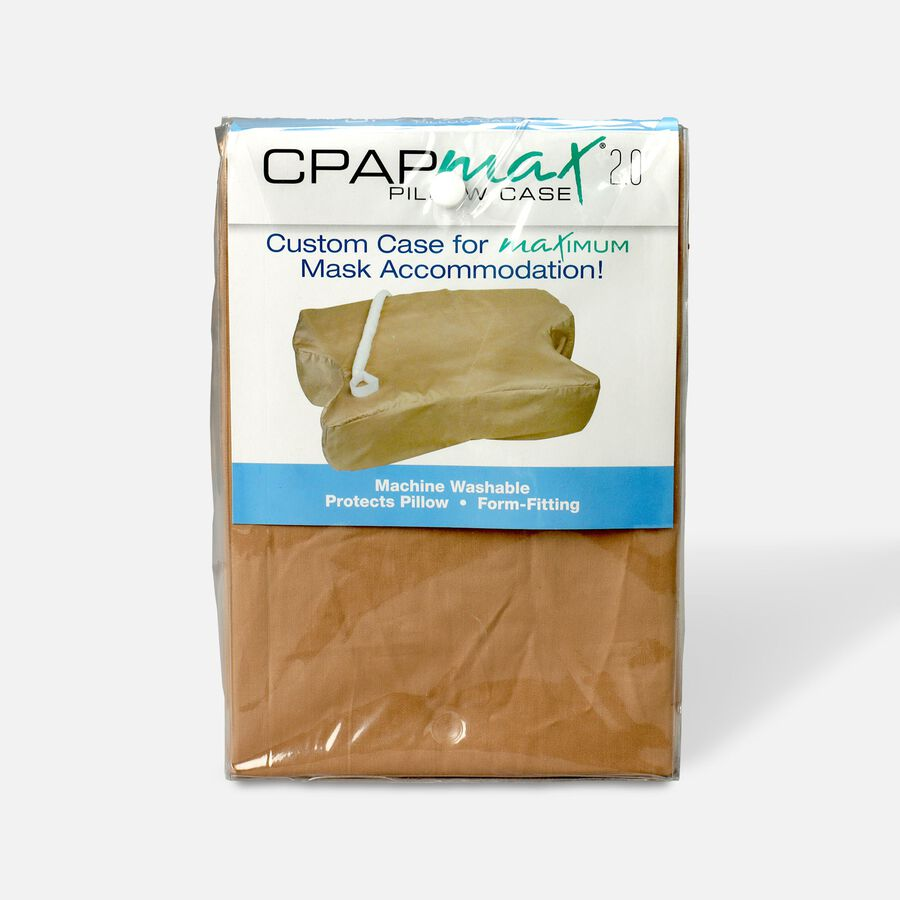CPAP Max 2.0 Standard Pillowcase, Beige, , large image number 0