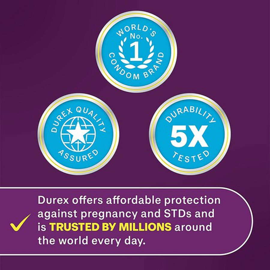 Durex Extra Sensitive Ultra Thin Condom, 24 ea, , large image number 3