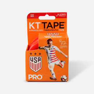 """KT Tape Pro Red Team USA, 20 2""""x10"""" strips"""