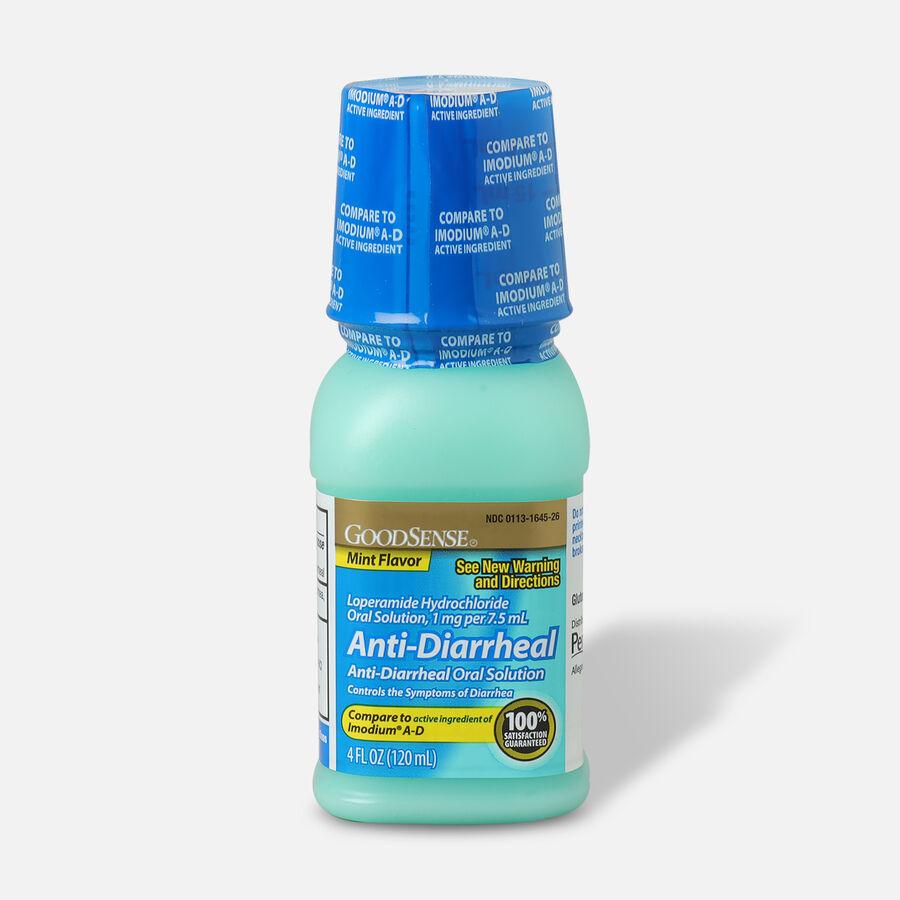 GoodSense® Anti-Diarrheal Loperamide Hydrochloride Oral Solution,1mg per 7.5mL, Mint, 4fl oz, , large image number 2