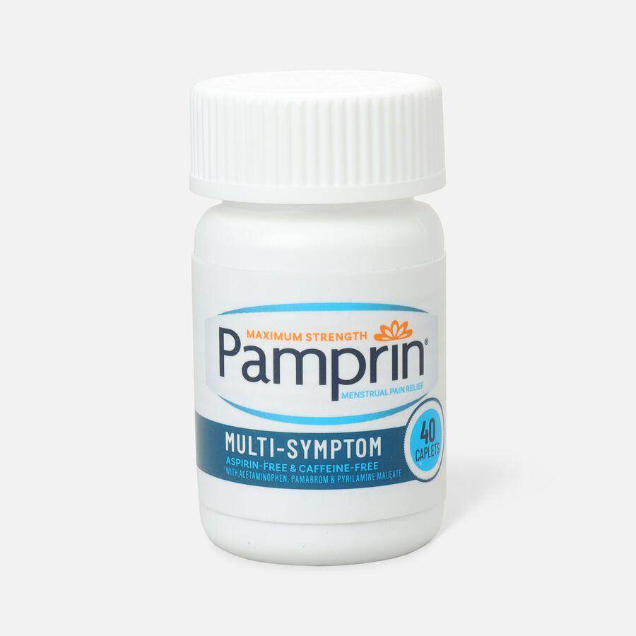 Pamprin Multi-Symptom Caplets, 40 ct, , large image number 0