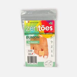 ZenToes Single Loop Toe Spacer for Bunions - 4 Pack