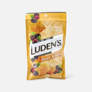 Luden's Honey and Berry Throat Drops, 25 ct.