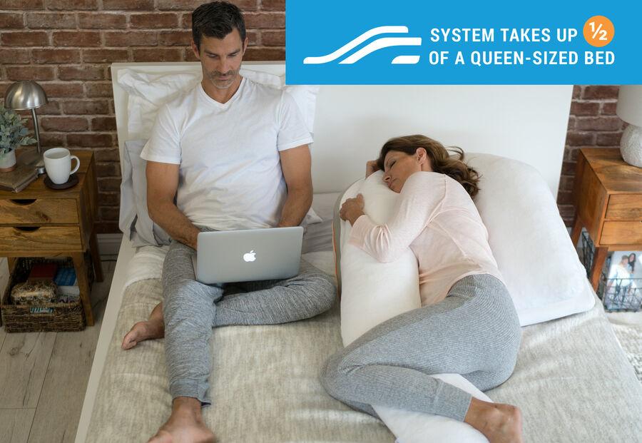 MedCline Shoulder Relief System + Extra Cases Bundle, One Size, , large image number 10