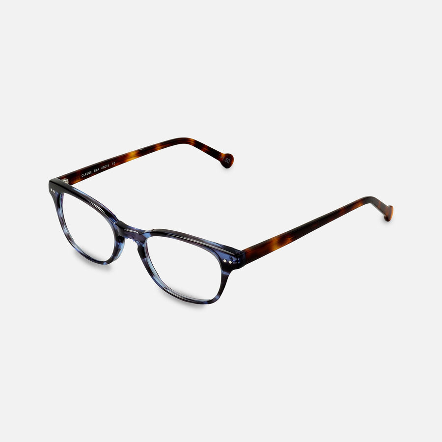 eyeOs Blue Claude Premium Reading Glasses, , large image number 2