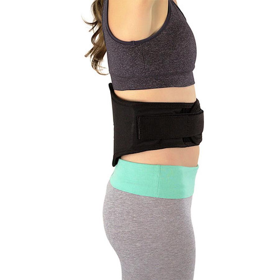 Back-A-Line Premier BMMI® Medical Magnets Lumbar Support, Black, , large image number 4
