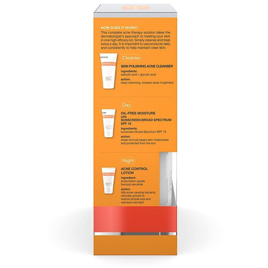 Neutrogena Complete Acne Therapy System, , large image number 3