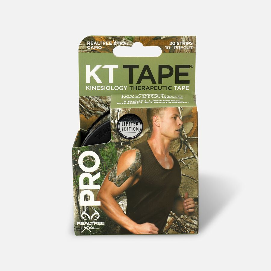 """KT Tape Pro RealTree Xtra Camo, 4"""" x 4"""", , large image number 0"""
