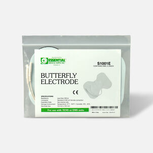 Essential Medical Supply Butterfly Electrode