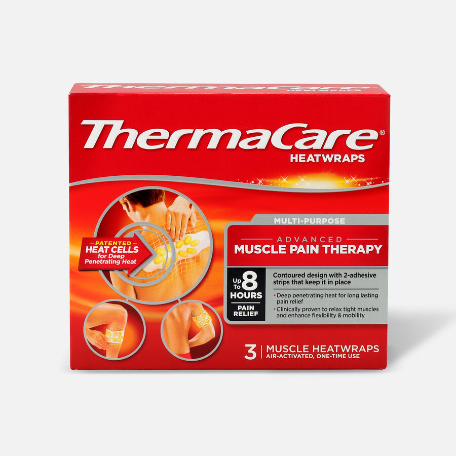 Thermacare Muscle/Joint Heat Wrap, , large image number 0