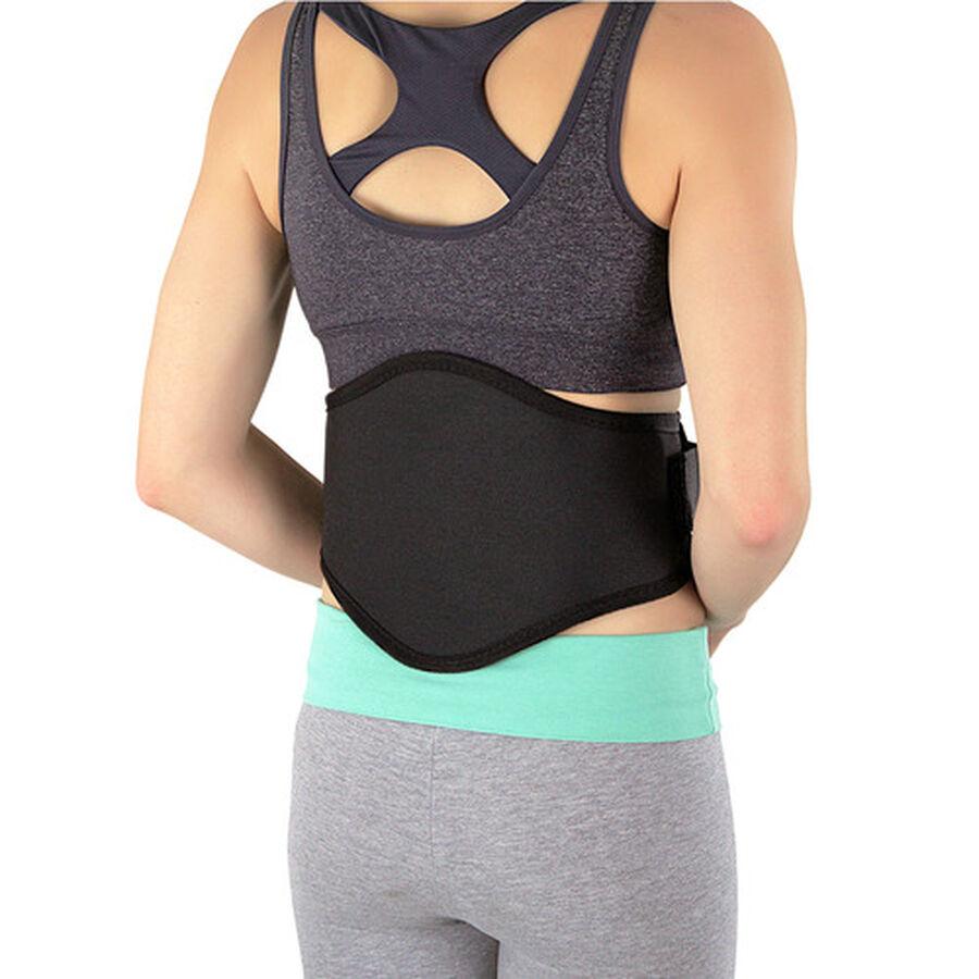 Back-A-Line Premier BMMI® Medical Magnets Lumbar Support, Black, , large image number 3