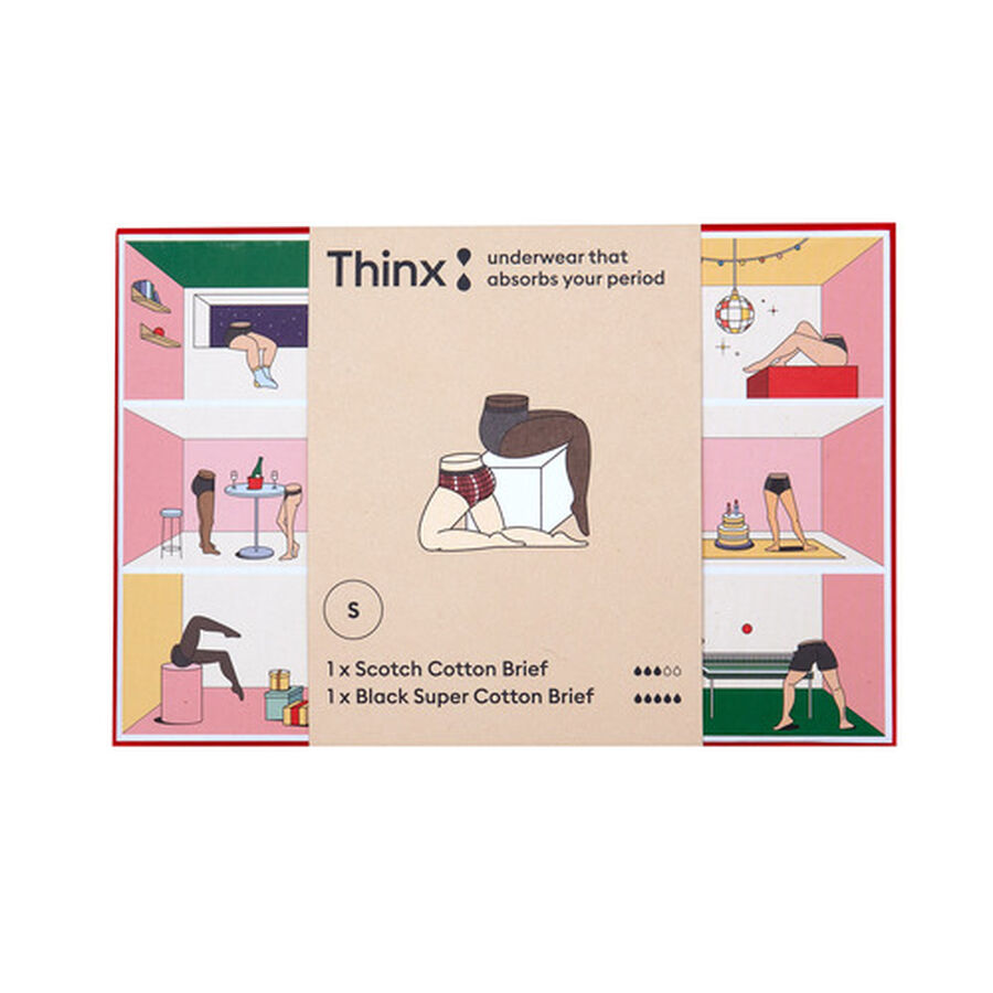 Thinx Period Proof Boxed Set, Scotch, , large image number 1