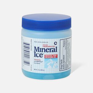 Mineral Ice Menthol Pain Relieving Gel, 3.5 oz