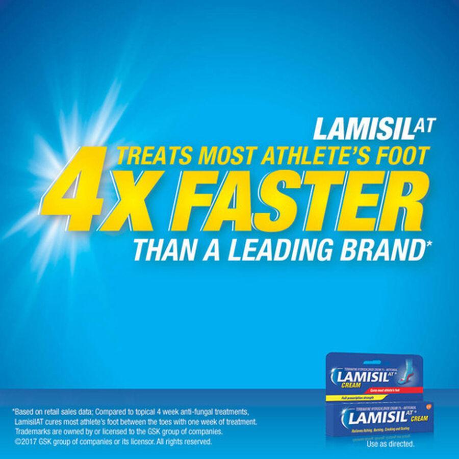 Lamisil Athlete's Foot Treatment Cream, , large image number 6