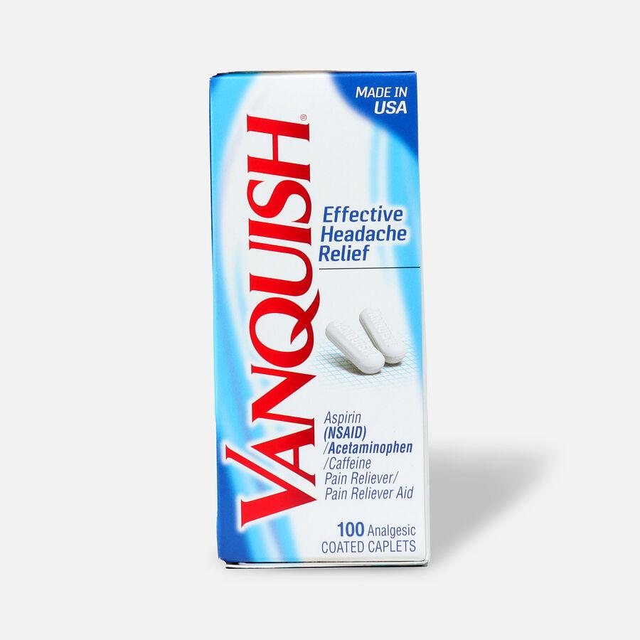 Vanquish Headache Relief Caplets, 100ct, , large image number 0