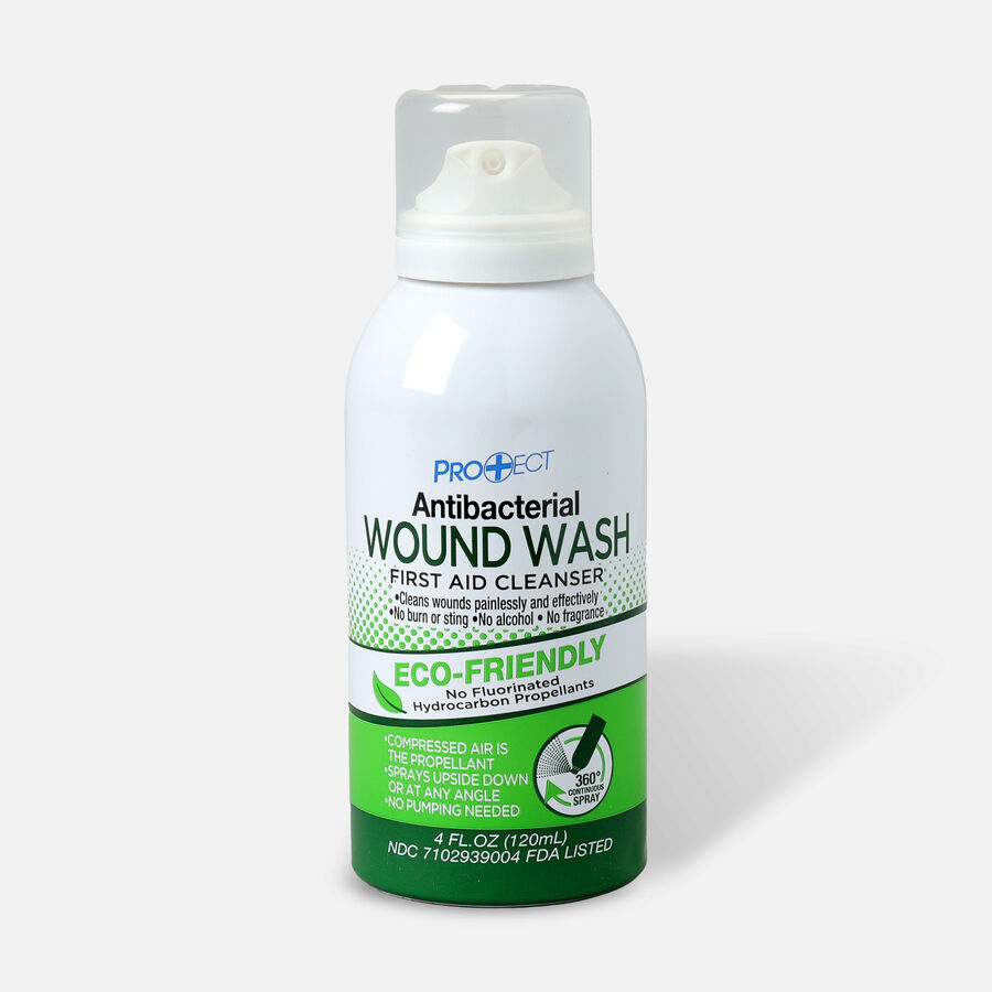 Cosrich Pro+ect Antibacterial Wound Wash, 4 oz, , large image number 0