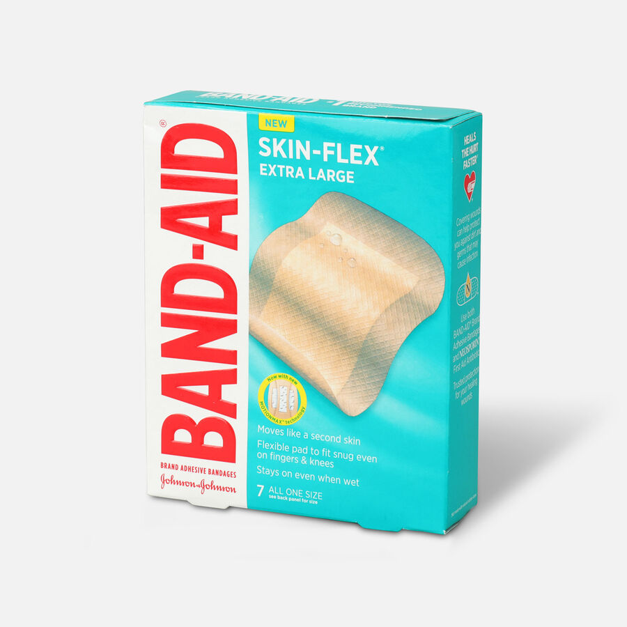 Band-Aid Skin-Flex Adhesive Bandages, All One Size, 7 ct, , large image number 2