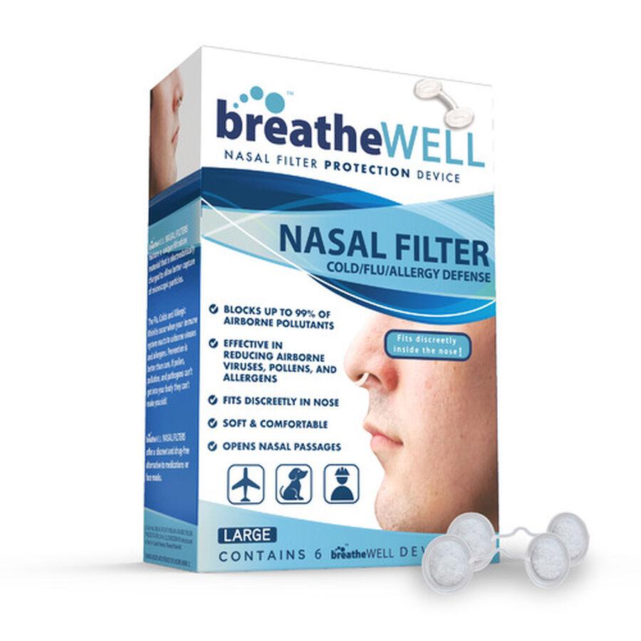 Breathe Well Nasal Filter, , large image number 1