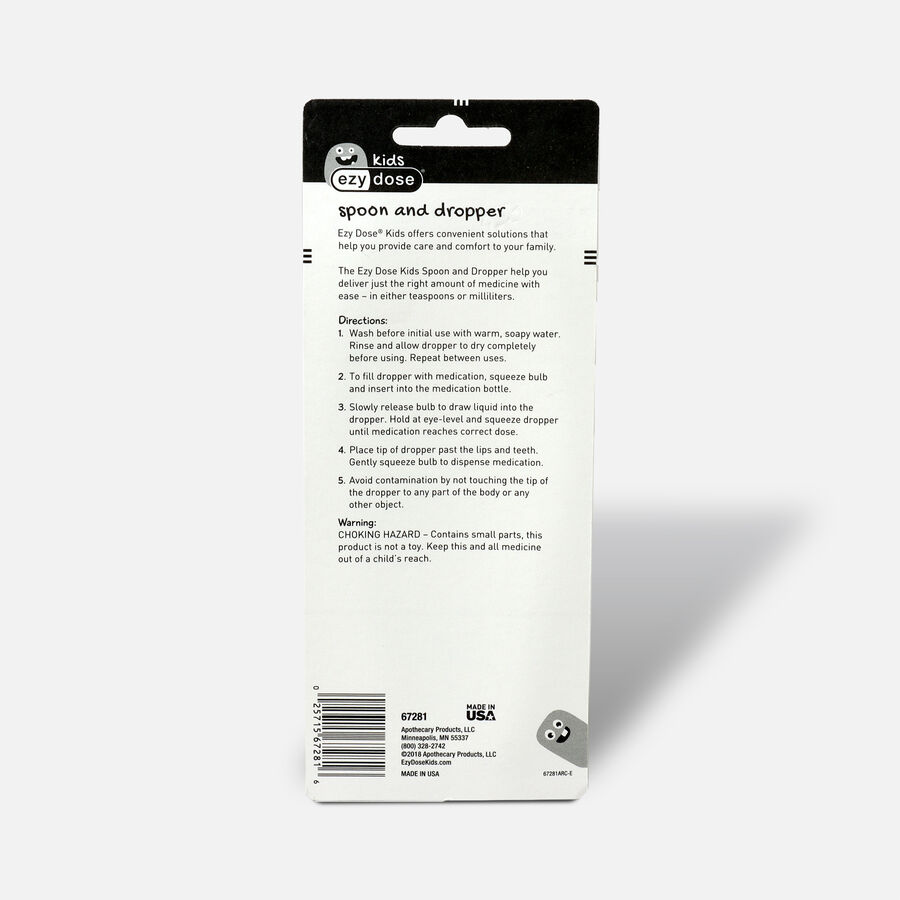EZY Dose Medicine Spoon and Medicine Dropper - Value Pack, , large image number 1