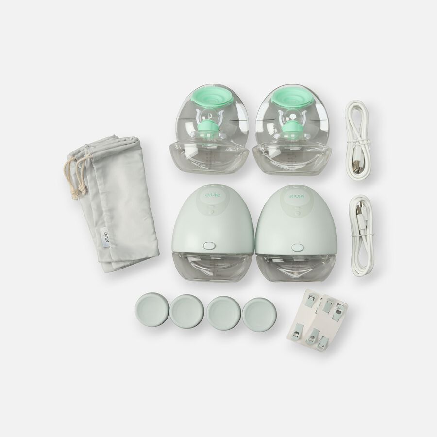 Elvie Double Electric Breast Pump, , large image number 0