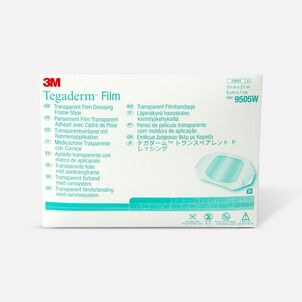 """Tegaderm Transparent Adhesive Film Dressing Picture Frame Style 2-3/8"""" x 2-3/4"""""""