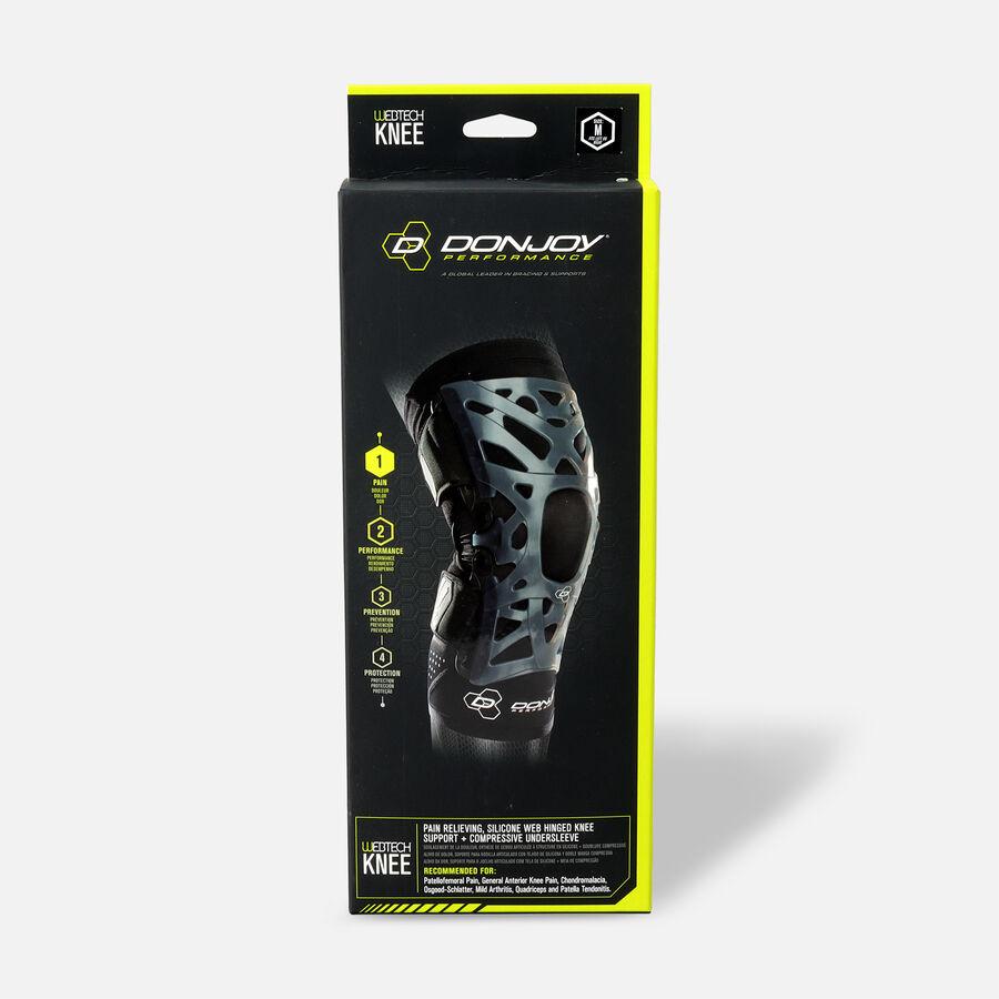 DonJoy Performance Webtech Knee Brace, Black, , large image number 2