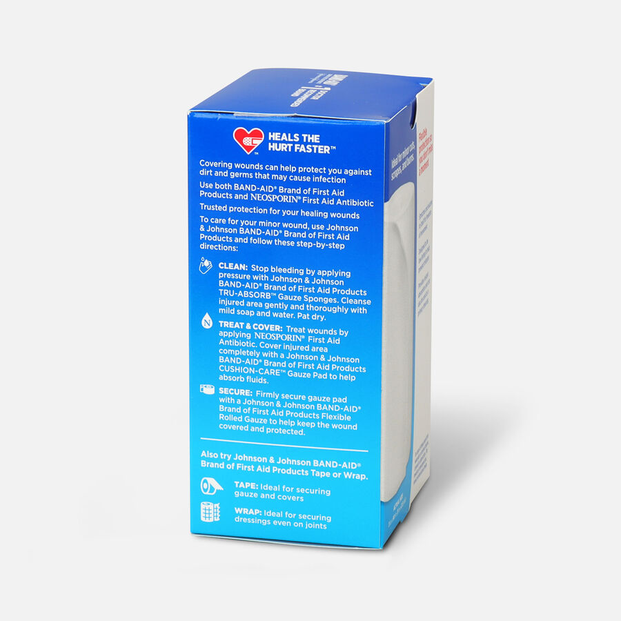 Band Aid First Aid Products Secure Gauze Roll and Wound Care Dressing, 3 in x 2.5 yd, , large image number 3