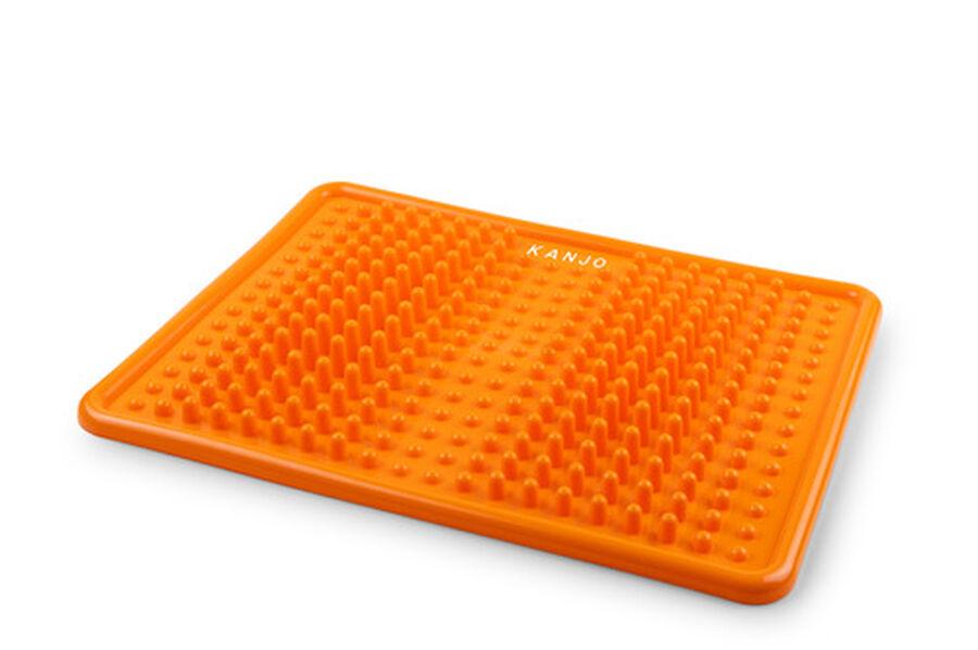 KanjoAcupressure Foot Pain Relief Mat, Orange, , large image number 2