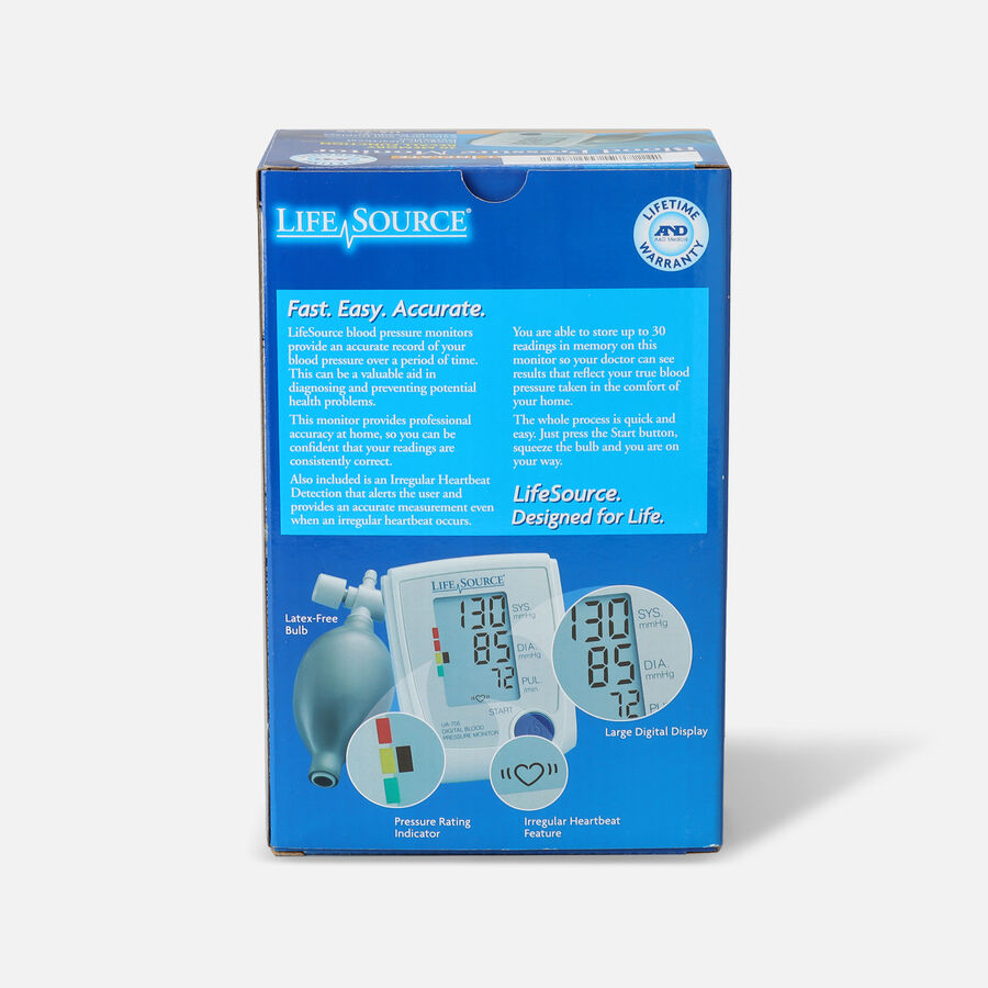 A&D Medical UA-705V Advanced Manual Inflate BP Monitor with Medium Cuff, , large image number 2