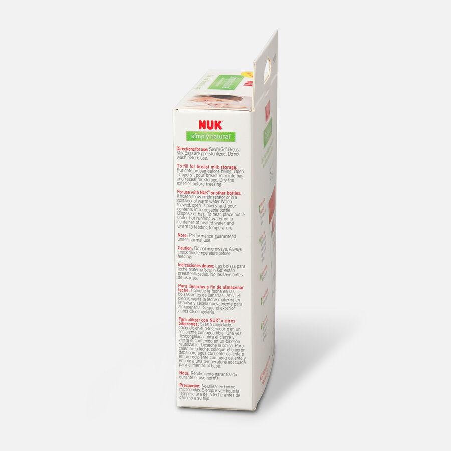 NUK® Seal 'N Go® Breast Milk Storage Bags, 25 ea, , large image number 3