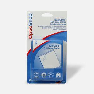 Optik Shop Ever-Clear Soft Lens Cloths, 30 ea (Pack of 2)