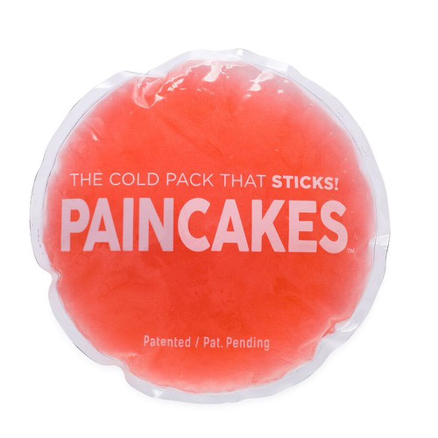 "PainCakes Stick & Stay Cold Packs. 5"", Red, , large image number 2"