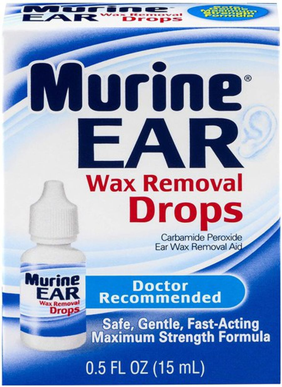 Murine Ear Wax Removal Drops, 0.5 oz, , large image number 0