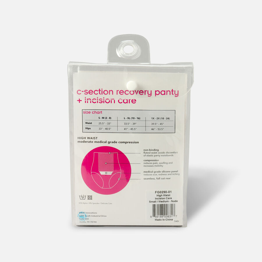 UpSpring C-Section Recovery Panty Plus Incision Care Nude, , large image number 5