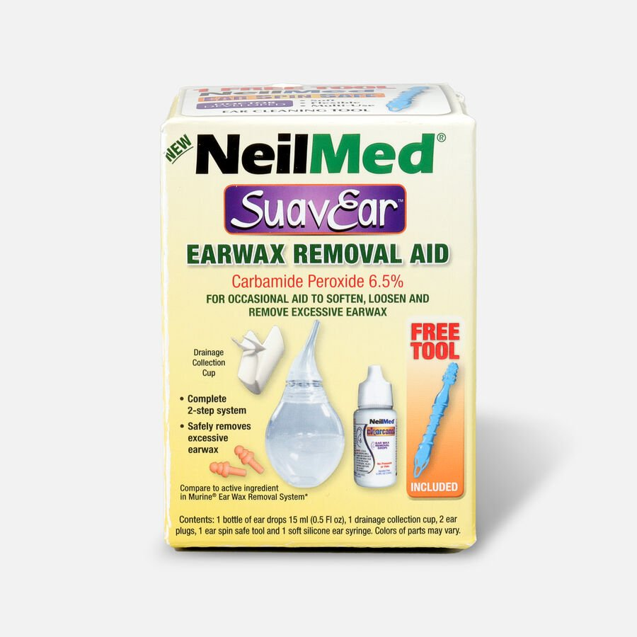 NeilMed SuavEar Ear Wax Removal Aid, , large image number 0