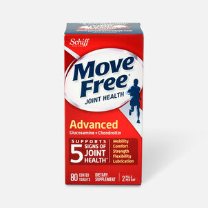 Schiff Move Free Advanced Joint Health Tablets, 80 Count