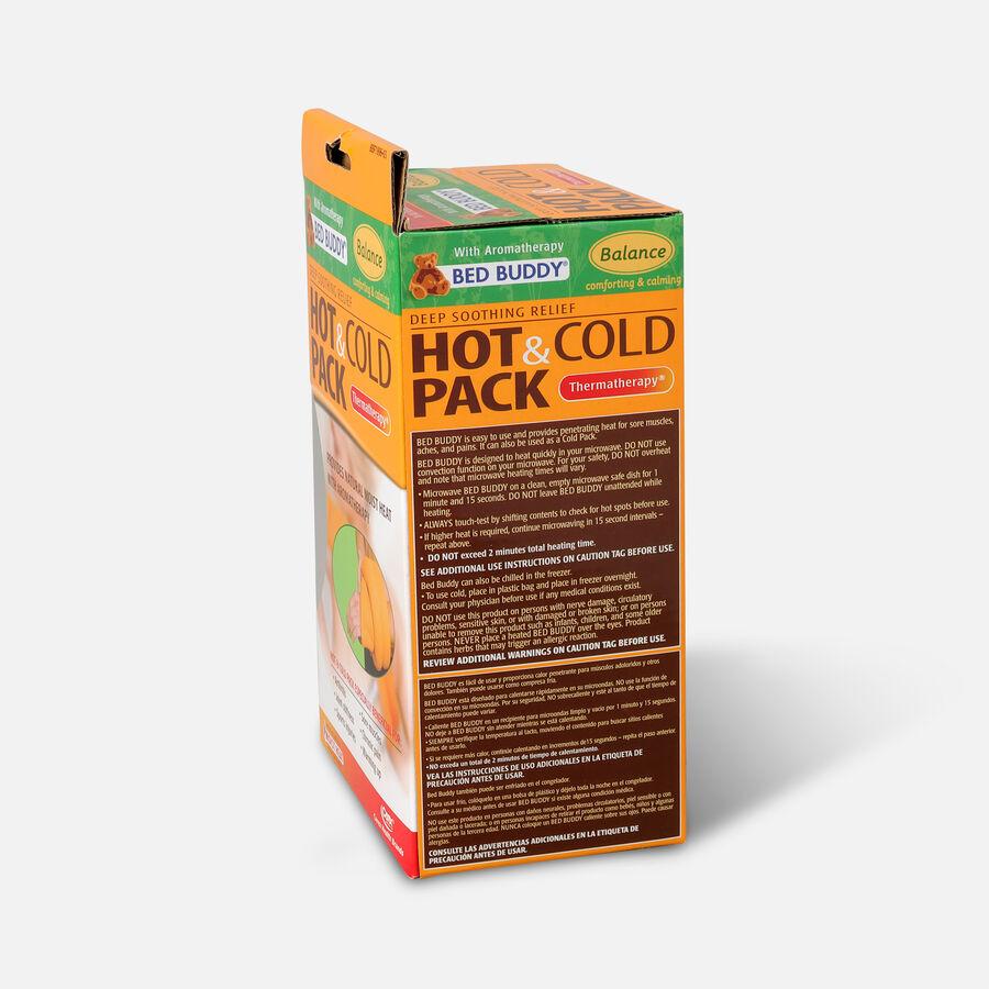 Bed Buddy Aromatherapy Hot & Cold Balance- Orange, #Bbf1996, Orange, large image number 3