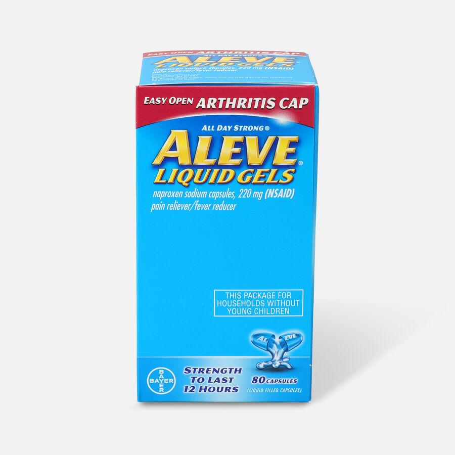Aleve Arthritis Liquid Gels, Easy Open Cap, 80ct, , large image number 0