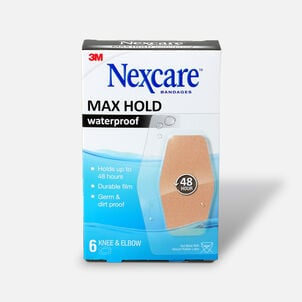 Nexcare Max Hold Knee and Elbow Bandage - 6ct