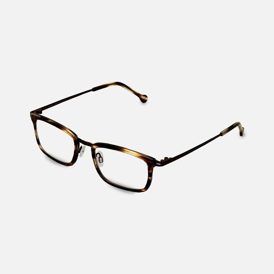 eyeOs Anton Tortoise Premium Reading Glasses, , large image number 2