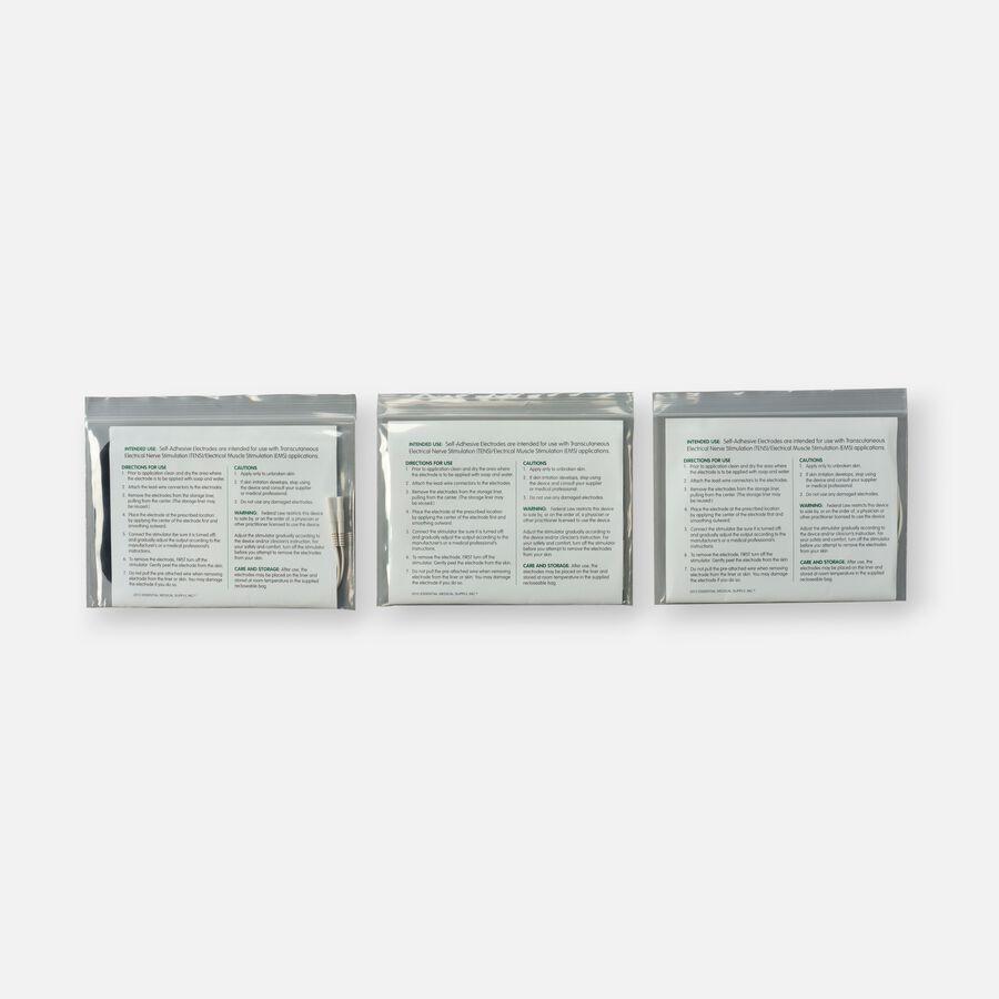 Essential Medical Supply TENS Electrode Combo Pack, , large image number 2