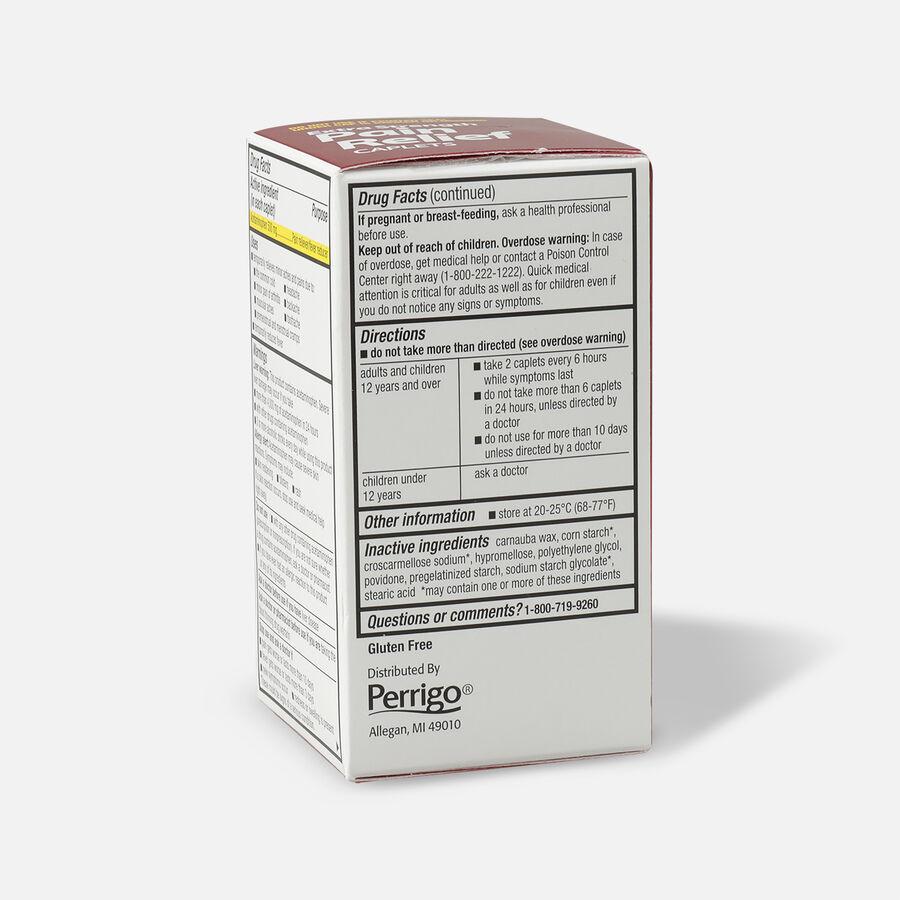 GoodSense® Extra Strength Acetaminophen 500 mg Caplets, 100 ct, , large image number 3