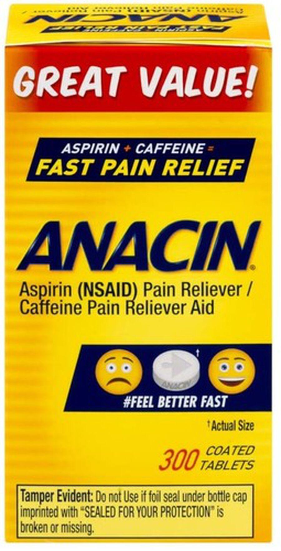 Anacin, Regular Strength, 300 count, , large image number 1