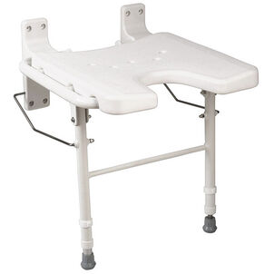 Healthsmart® Wall Mount Fold Away Shower Seat Bench