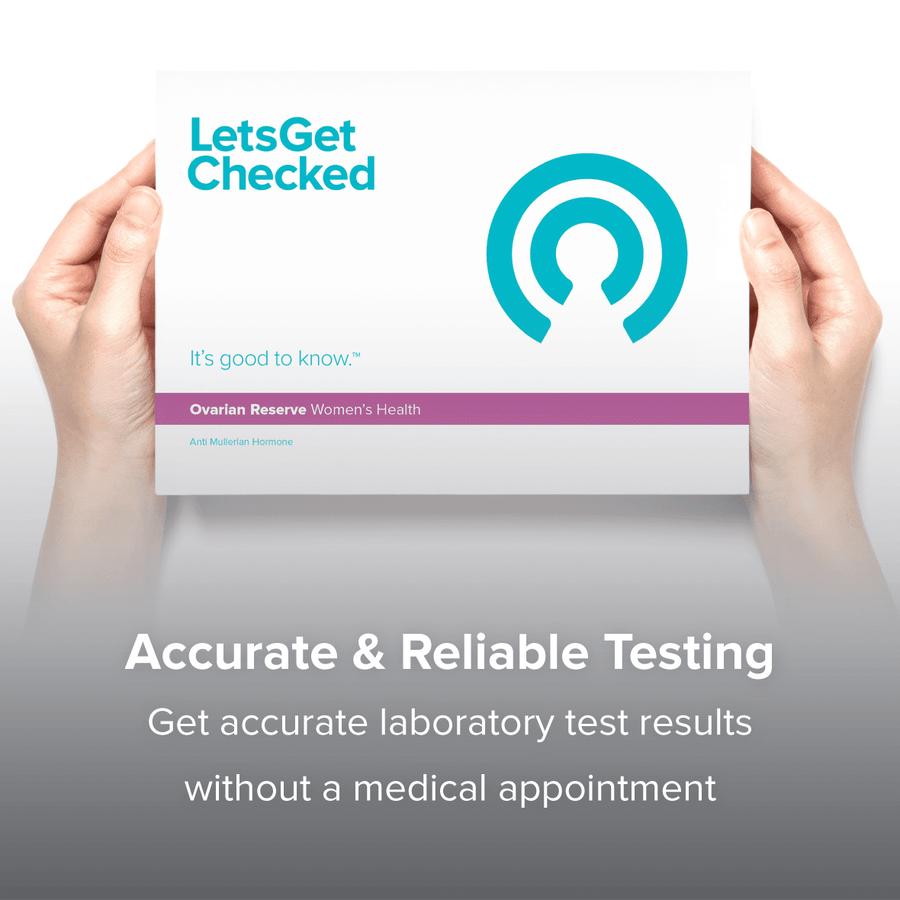 LetsGetChecked Ovarian Reserve Home Female Fertility Test, , large image number 5