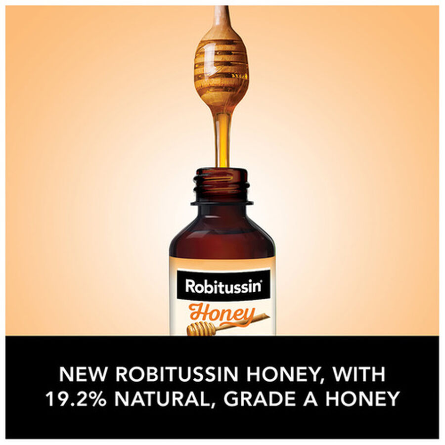 Robitussin Honey Cough and Congestion DM, Maximum Strength, 8 fl oz, , large image number 6