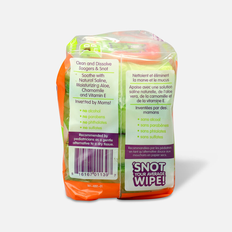 Boogie Wipes® 2-Pack 45-Count Saline Wipes in Fresh Scent, , large image number 1